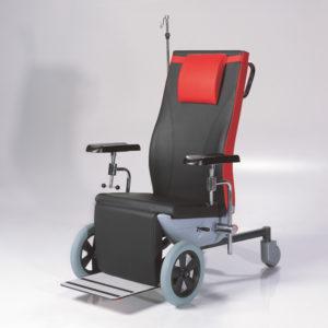 Chaise pour prise de sang